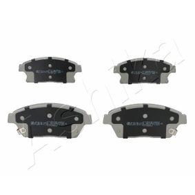 Bremsbelagsatz, Scheibenbremse Höhe: 62mm, Dicke/Stärke: 19mm mit OEM-Nummer 1605135
