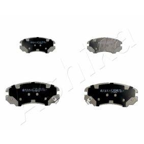 Bremsbelagsatz, Scheibenbremse Höhe: 59,9mm, Dicke/Stärke: 17,3mm mit OEM-Nummer 581013CA20