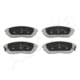 2017 KIA Sorento jc 2.5 CRDi Brake Pad Set, disc brake 50-K0-008
