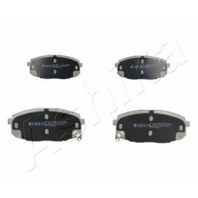 2008 KIA Ceed ED 1.6 CRDi 90 Brake Pad Set, disc brake 50-K0-009