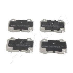 Bremsbelagsatz, Scheibenbremse Höhe: 70mm, Dicke/Stärke: 15mm mit OEM-Nummer 5174327AB