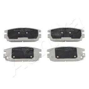Bremsbelagsatz, Scheibenbremse Höhe: 46,3mm, Dicke/Stärke: 15,9mm mit OEM-Nummer 58302 H1A00