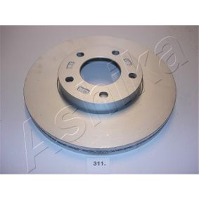 Brake Disc Brake Disc Thickness: 25mm, Ø: 277,8mm with OEM Number C24Y-33-25XC9A
