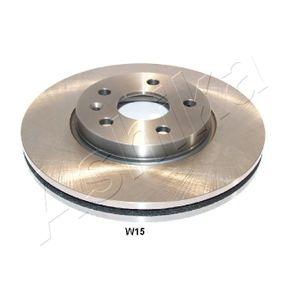 Bremsscheibe Bremsscheibendicke: 26mm, Ø: 276mm mit OEM-Nummer 569 073