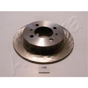 Bremsscheibe Bremsscheibendicke: 7mm, Ø: 233,4mm mit OEM-Nummer 43206 58Y02