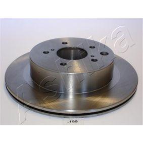Bremsscheibe Bremsscheibendicke: 18mm, Ø: 296,5mm mit OEM-Nummer 4320620U00