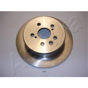 Disque de frein Epaisseur du disque de frein: 10mm, Ø: 268,7mm avec OEM numéro 42431-20320
