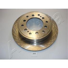 Disque de frein Épaisseur du disque de frein: 18mm, Ø: 311,8mm avec OEM numéro 42431 60270
