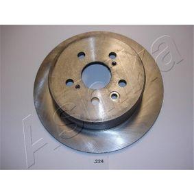 Disque de frein Épaisseur du disque de frein: 10mm, Ø: 268,7mm avec OEM numéro 4243120200