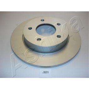 2011 Mazda 3 BL 1.6 MZR CD Brake Disc 61-03-321