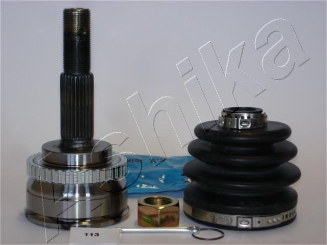 ASHIKA  62-01-113 Gelenksatz, Antriebswelle Außenverz.Radseite: 25, Innenverz. Radseite: 22, Zähnez. ABS-Ring: 42