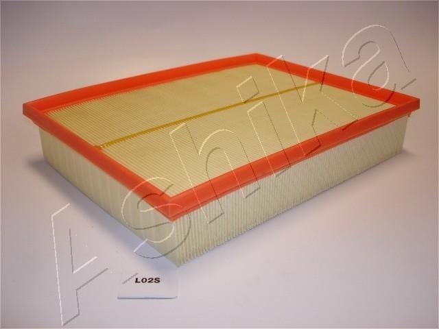 ASHIKA  20-0L-L02 Luftfilter Länge: 300mm, Breite: 225mm, Höhe: 58,5mm