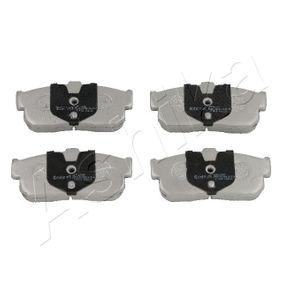 Bremsbelagsatz, Scheibenbremse Höhe: 47,2mm, Dicke/Stärke: 16,2mm mit OEM-Nummer 44060 4U090
