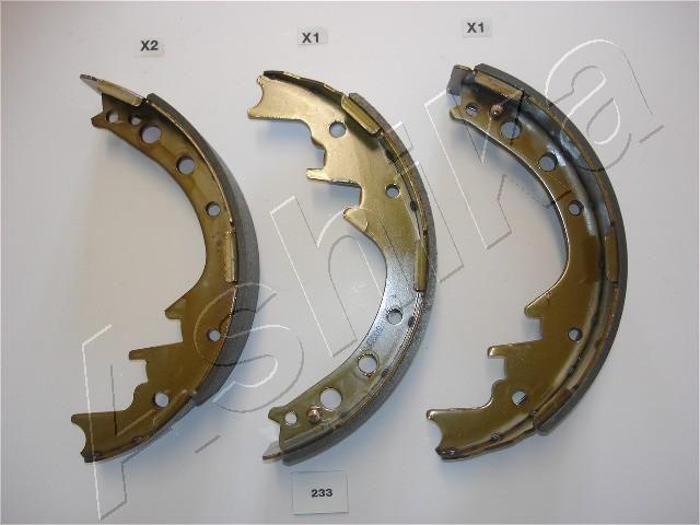 ASHIKA  55-02-233 Jogo de maxilas de travão Largura: 58,2mm
