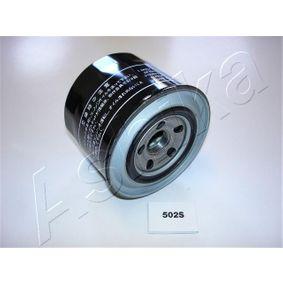 ASHIKA  10-05-502 Маслен филтър Ø: 90мм