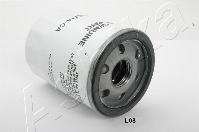 ASHIKA  10-0L-L08 Ölfilter Ø: 78,5mm, Länge: 108mm, Länge: 108mm