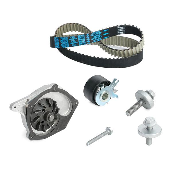 Timing belt and water pump kit DOLZ 02KD003 8430632500036
