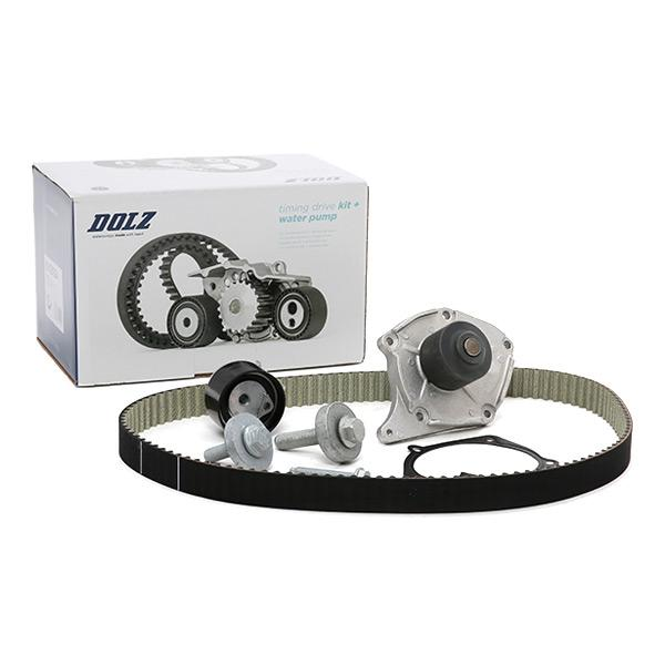 Timing belt kit and water pump KD004 DOLZ R227 original quality