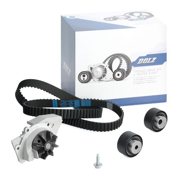Timing belt and water pump kit DOLZ 06KD007 expert knowledge