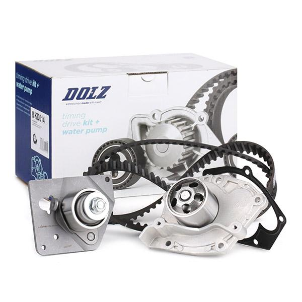 Timing belt and water pump kit DOLZ 05KD008 expert knowledge