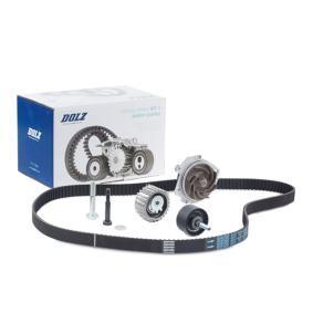 DOLZ  KD032 Wasserpumpe + Zahnriemensatz Breite: 24,0mm