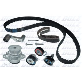 Golf 4 1.4 16V Wasserpumpe + Zahnriemensatz DOLZ KD035 (1.4 16V Benzin 2002 AKQ)