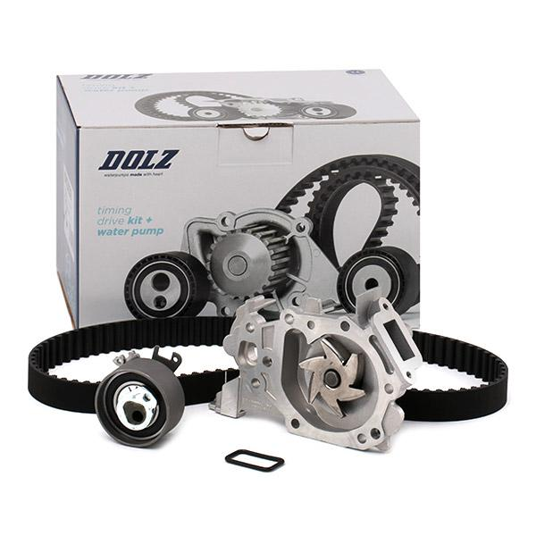 Timing belt kit and water pump KD039 DOLZ R228 original quality