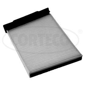Filter, Innenraumluft Länge: 231mm, Breite: 179mm, Höhe: 25mm mit OEM-Nummer 7701 055 109