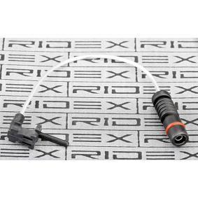 RIDEX Warnkontakt, Bremsbelagverschleiß 407W0050