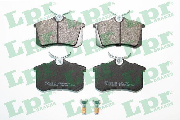 LPR  05P1788 Jogo de pastilhas para travão de disco Largura: 87mm, Altura: 53mm, Espessura: 16,2mm