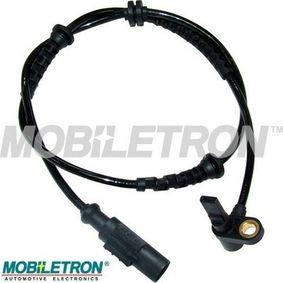 Sensor, Raddrehzahl Länge: 830mm, Pol-Anzahl: 2-polig mit OEM-Nummer 55700425
