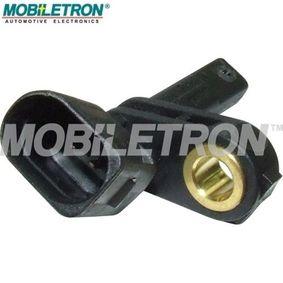 Sensor, Raddrehzahl Pol-Anzahl: 2-polig mit OEM-Nummer 7H0927803
