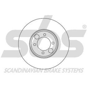 Bremsscheibe Bremsscheibendicke: 12,70mm, Felge: 4,00-loch, Ø: 264mm mit OEM-Nummer C46113
