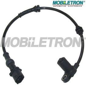 Sensor, Raddrehzahl Länge: 455mm, Pol-Anzahl: 2-polig mit OEM-Nummer 9115 064