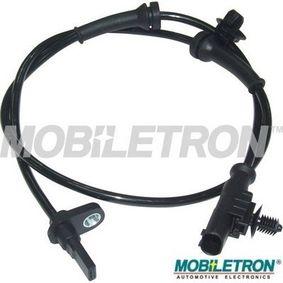 Sensor, Raddrehzahl Länge: 820mm, Pol-Anzahl: 2-polig mit OEM-Nummer 4545E1