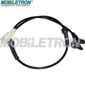 Sensor, Raddrehzahl Länge: 675mm, Pol-Anzahl: 2-polig mit OEM-Nummer 9635384780