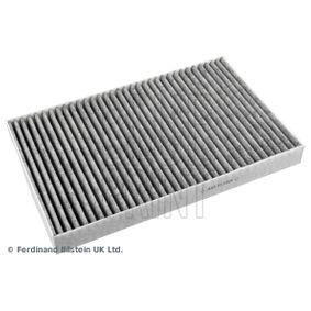 Filter, Innenraumluft Länge: 310mm, Breite: 196,0mm, Höhe: 27mm mit OEM-Nummer 4B0 819 439