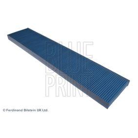 Filter, Innenraumluft Länge: 535mm, Breite: 110,0mm, Höhe: 25mm mit OEM-Nummer 7M0819638 A