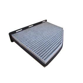 Filter, Innenraumluft Länge: 286,0mm, Breite: 212,0mm, Höhe: 34,0mm mit OEM-Nummer 1K1819653