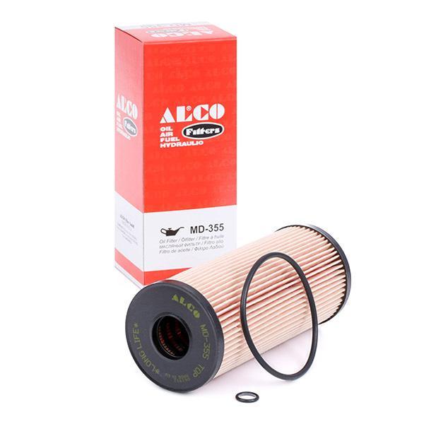 Motorölfilter MD-355 ALCO FILTER MD-355 in Original Qualität