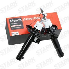 Shock Absorber Length: 389mm, Length: 560mm, Ø: 50mm, Ø: 50mm with OEM Number 1K0 413 031BS