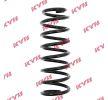 KYB Fahrwerksfeder RC5004 für AUDI 100 (44, 44Q, C3) 1.8 ab Baujahr 02.1986, 88 PS
