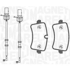 Bremsbelagsatz, Scheibenbremse Höhe 1: 58,5mm, Höhe 2: 59,8mm, Dicke/Stärke 1: 17,5mm mit OEM-Nummer 4H0 698 451 C