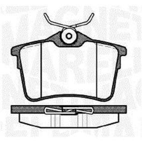 Bremsbelagsatz, Scheibenbremse Höhe 1: 52,8mm, Dicke/Stärke 1: 16,7mm mit OEM-Nummer 1611837980