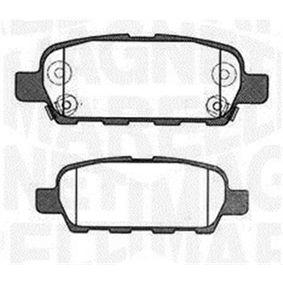 2013 Nissan Qashqai j10 1.6 Brake Pad Set, disc brake 363916060473