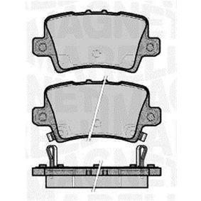 Brake Pad Set, disc brake 363916060621 CIVIC 8 Hatchback (FN, FK) 2.2 CTDi (FK3) MY 2006