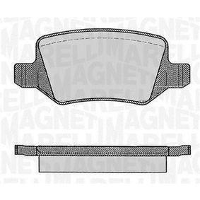 Bremsbelagsatz, Scheibenbremse Höhe 1: 41,5mm, Dicke/Stärke 1: 14,3mm mit OEM-Nummer A 1694201720