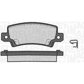 Bremsbelagsatz, Scheibenbremse Höhe 1: 37,7mm, Dicke/Stärke 1: 15,8mm mit OEM-Nummer 446602020