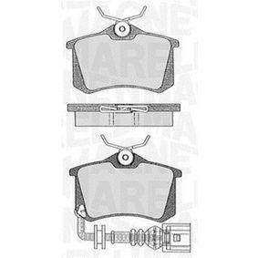 Bremsbelagsatz, Scheibenbremse Höhe 1: 53mm, Dicke/Stärke 1: 17mm mit OEM-Nummer JZW 698 451F