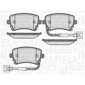 Bremsbelagsatz, Scheibenbremse Höhe 1: 59mm, Dicke/Stärke 1: 17,5mm mit OEM-Nummer 3D0.698.451